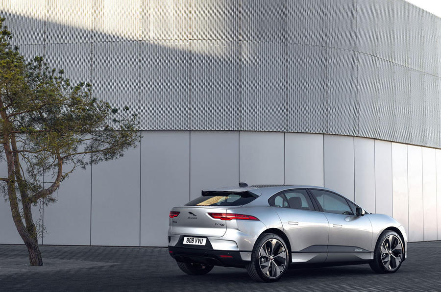 Jaguar I-Pace 2021 facelift official images - static rear