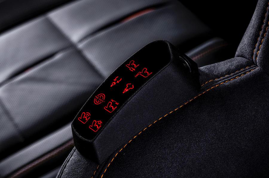 Mercedes-Benz ESF 2019 concept - official press images - seatbelt monitoring
