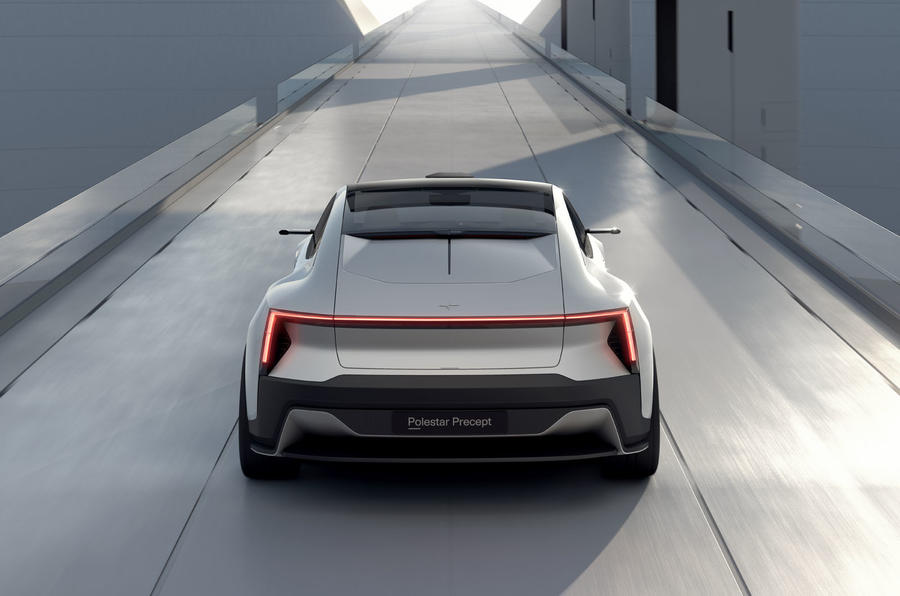 Polestar Precept concept official images - rear end