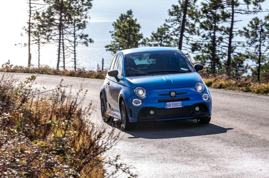 2021 Abarth 595 facelift