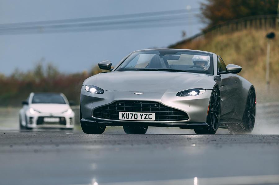 Britain's best drivers car 2020 - Aston vs Toyota