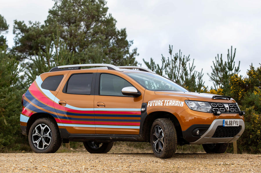 Dacia x Future Terrain - car