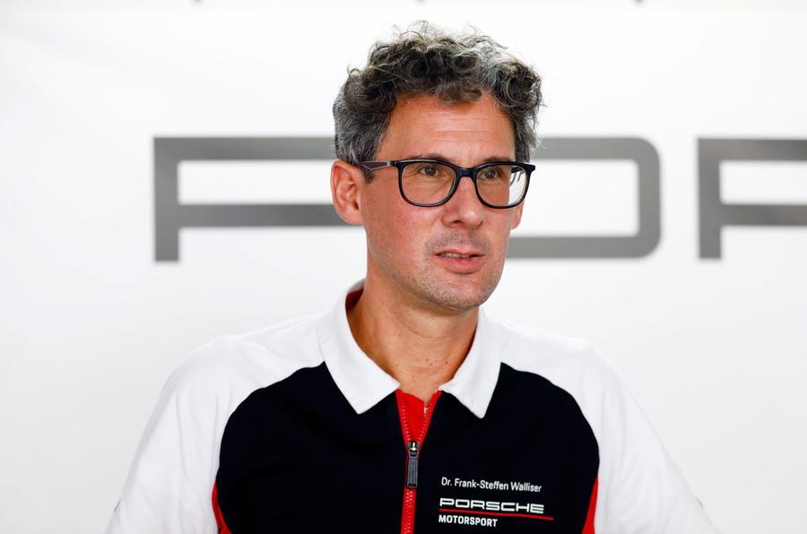 Porsche 911 Targa 992 official images - Frank-Steffen Walliser