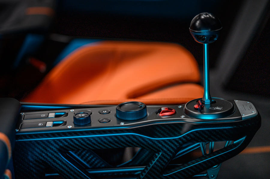 Gordon Murray T50 official reveal - centre console
