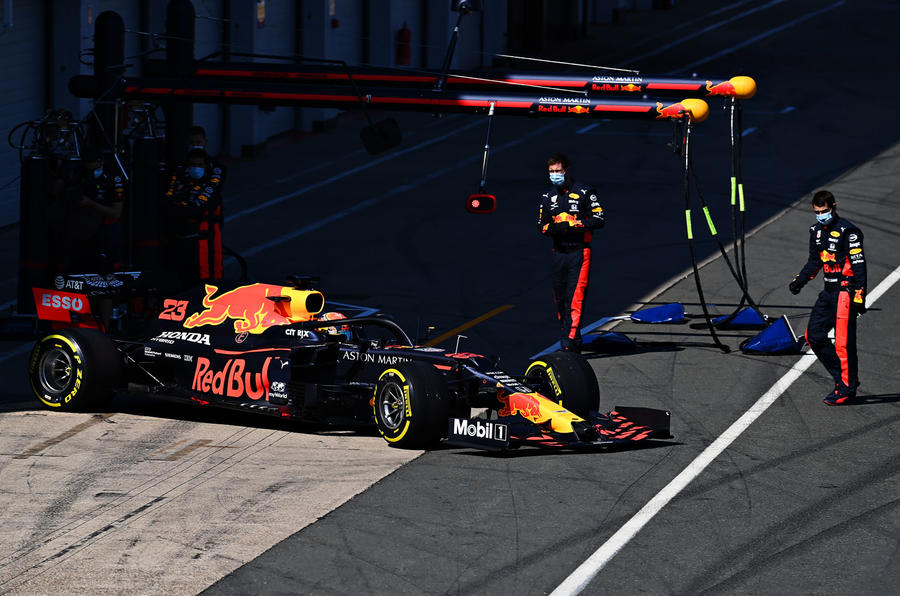 Holding a Grand Prix during a pandemic - Red Bull