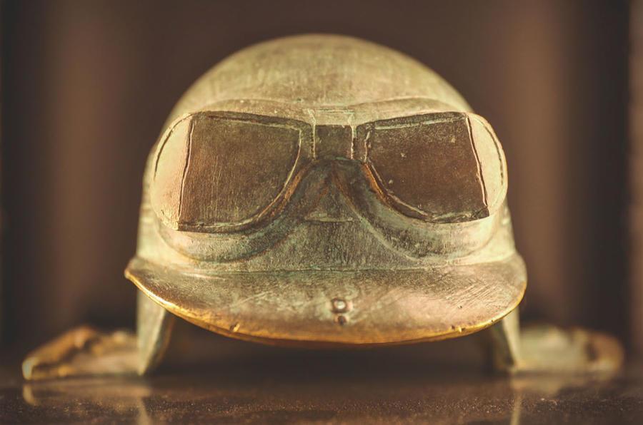 Jim Clark Museum preview day - driving cap