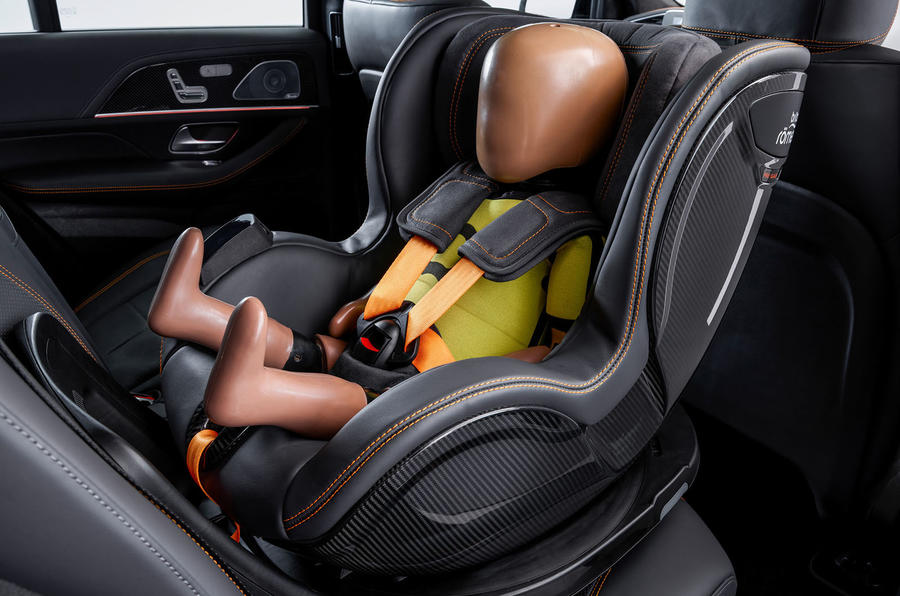 Mercedes-Benz ESF 2019 concept - official press images - childseat