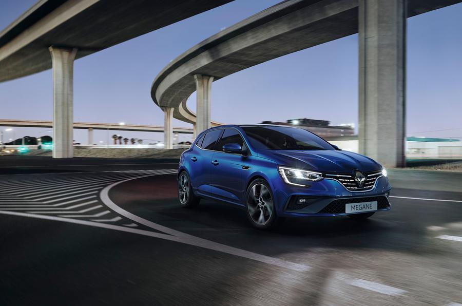 Renault megane 2020 refresh - RS line front