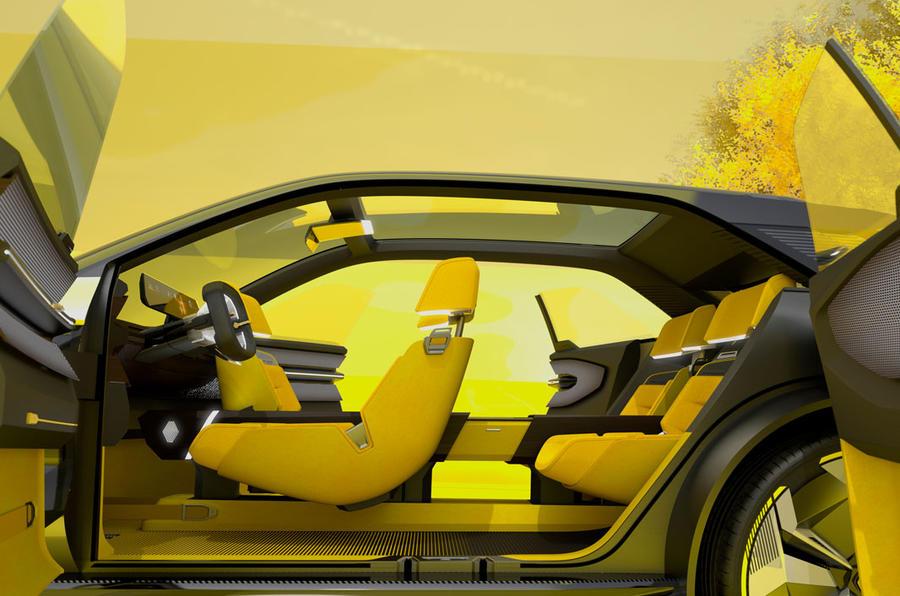 Renault Morphoz concept official studio images - cabin