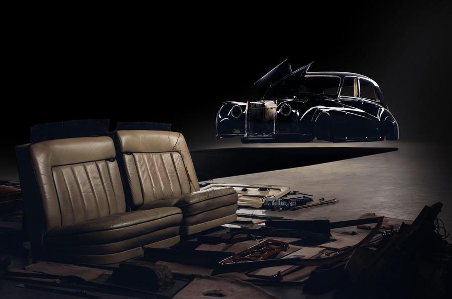 Rolls Royce by Lunaz official images - rebuild