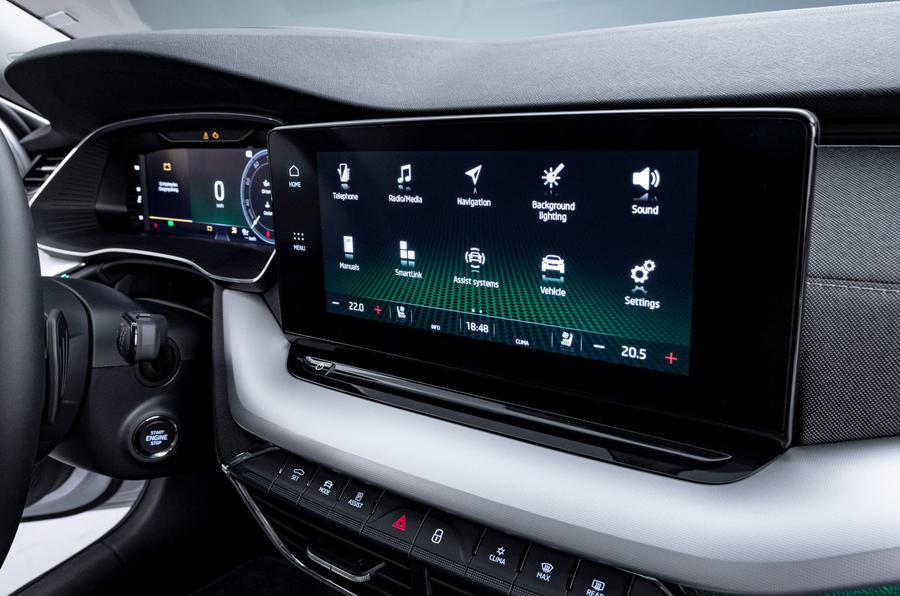 2020 Skoda Octavia official studio - infotainment