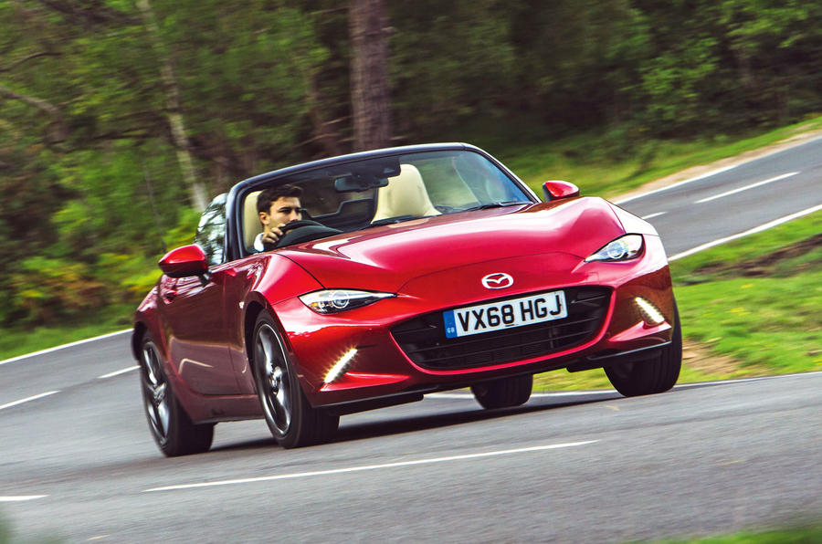 Used vs PCP: everyday drop-tops - Mazda MX-5