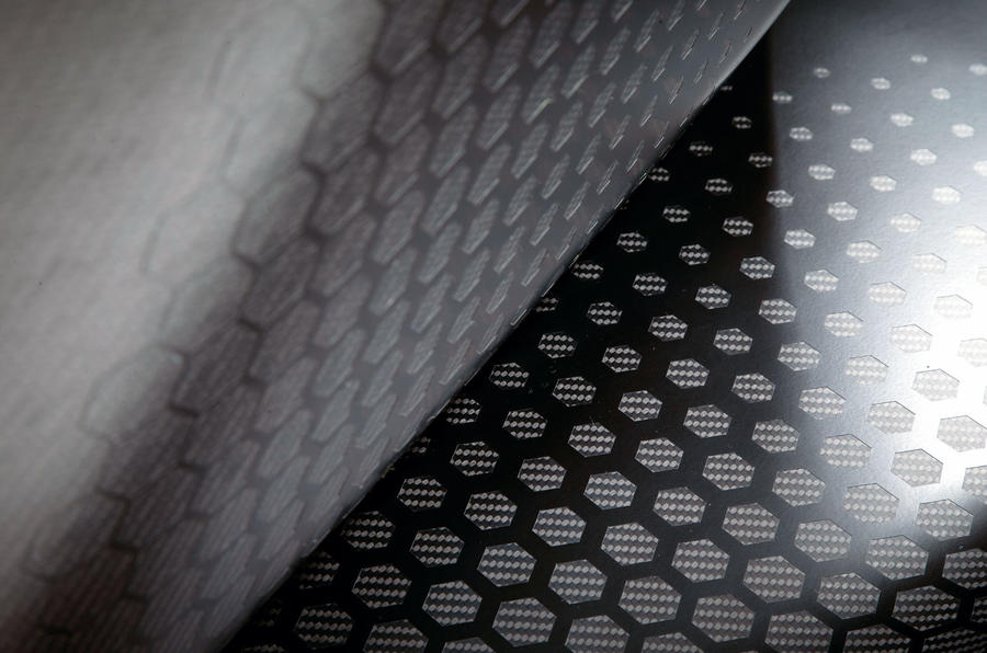 BAC Mono R carbonfibre feature - weave