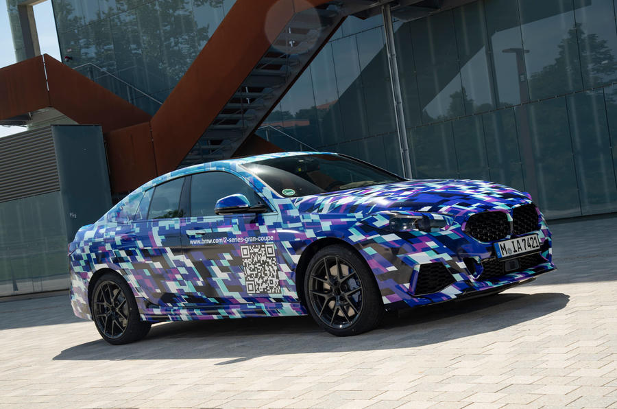 BMW 2 Series Gran Coupé prototype drive - static front