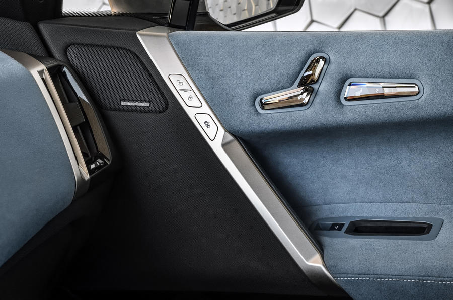 BMW iNext official images - door cards
