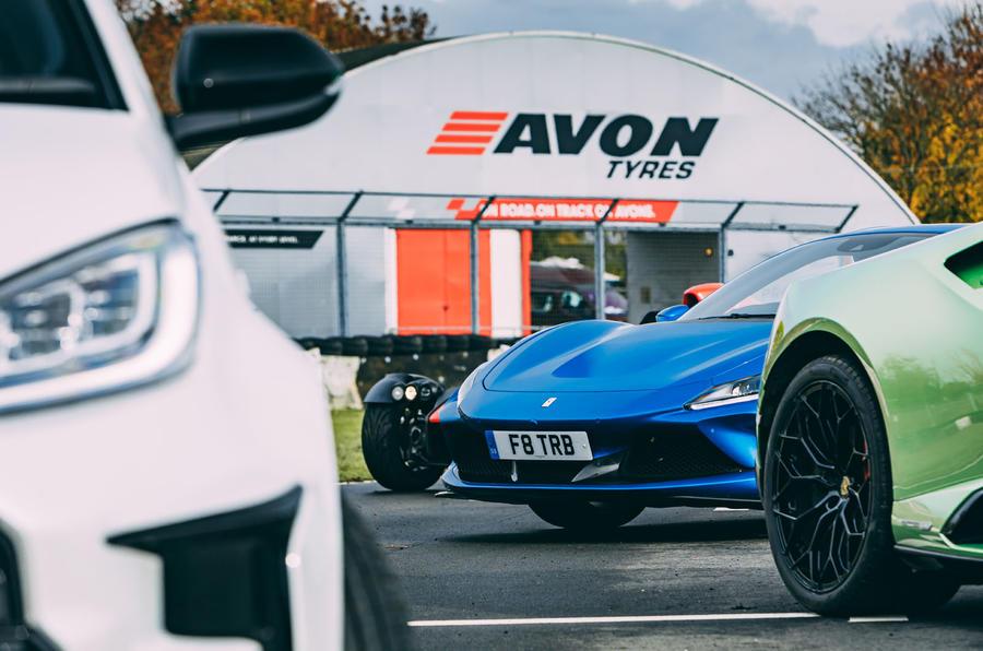 Britain's best drivers car 2020 - Castle Combe