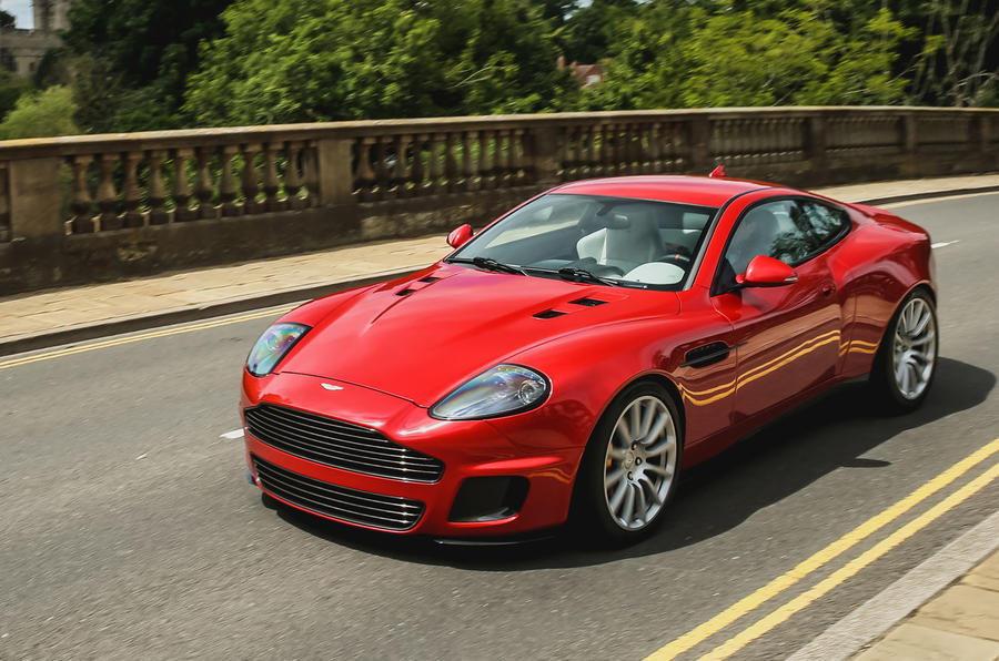 Callum Aston Martin Vanquish 25 first drive review - on the road