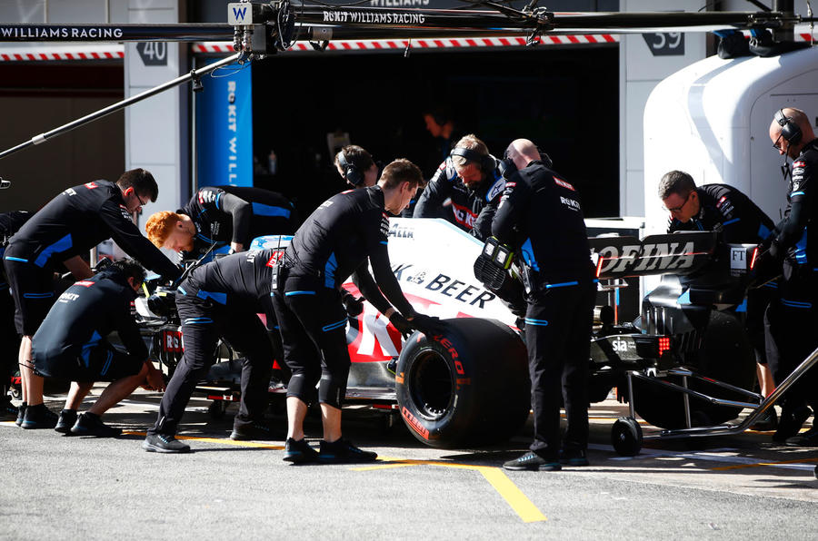 Claire Williams exclusive Autocar interview - Williams F1 pit crew