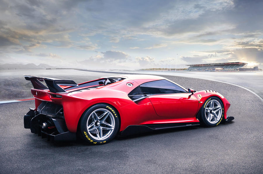 Ferrari P80/C 2019 reveal official pictures - render rear