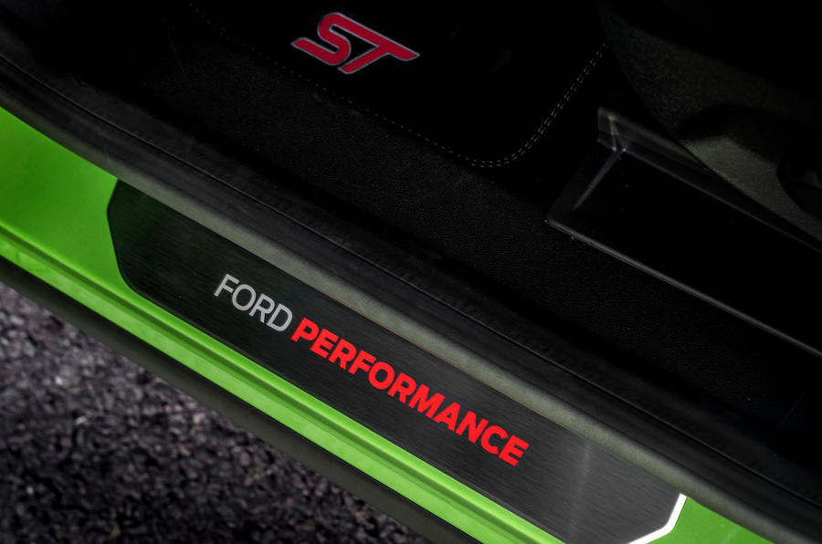 Ford Puma ST official images - scuff plates
