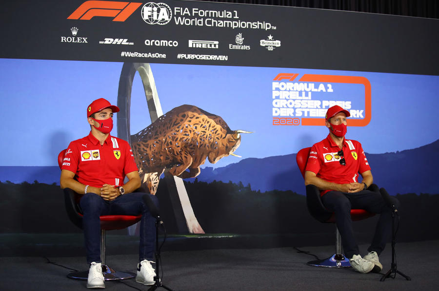 Holding a Grand Prix during a pandemic - Ferrari interview