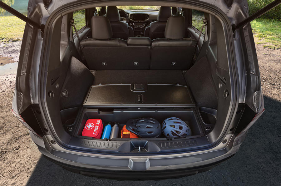 Honda Passport Official Reveal Rear Storage