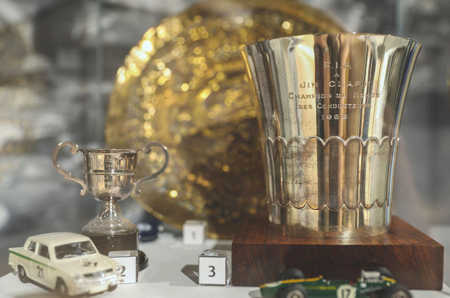 Jim Clark Museum preview day - cup
