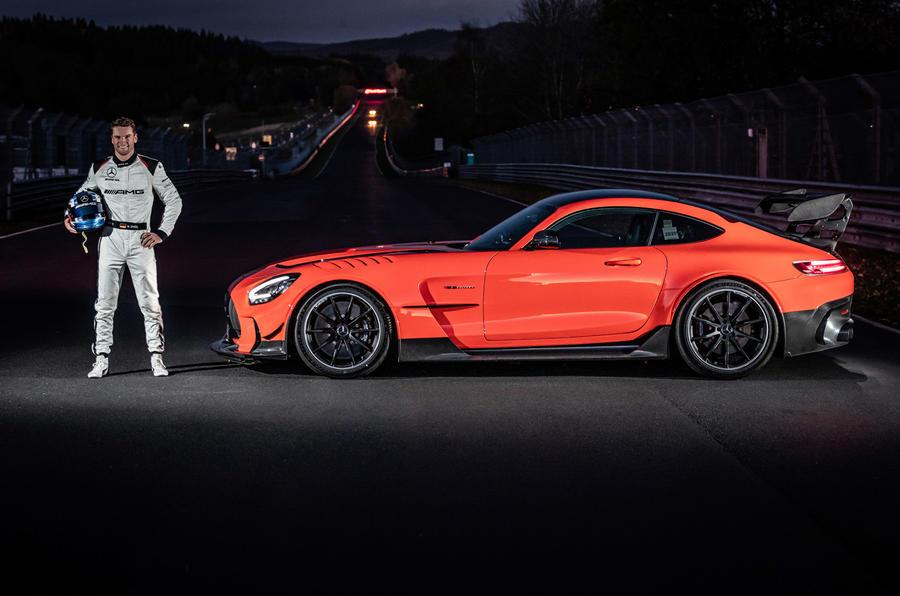 Mercedes-AMG GT Black Series Nurburgring record - static