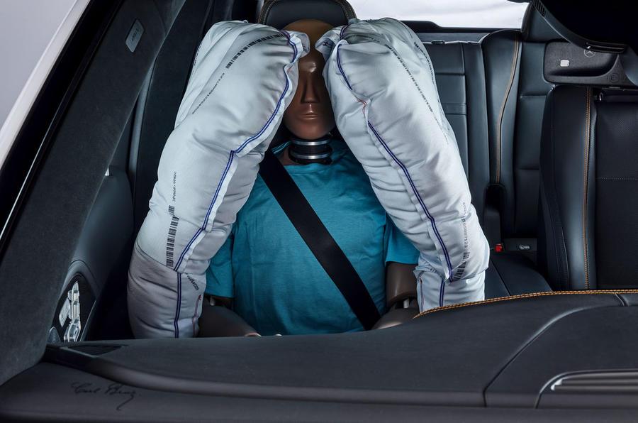 Mercedes-Benz ESF 2019 concept - official press images - passenger airbag