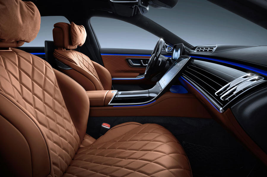 2021 Mercedes-Benz S-Class official reveal images - cabin