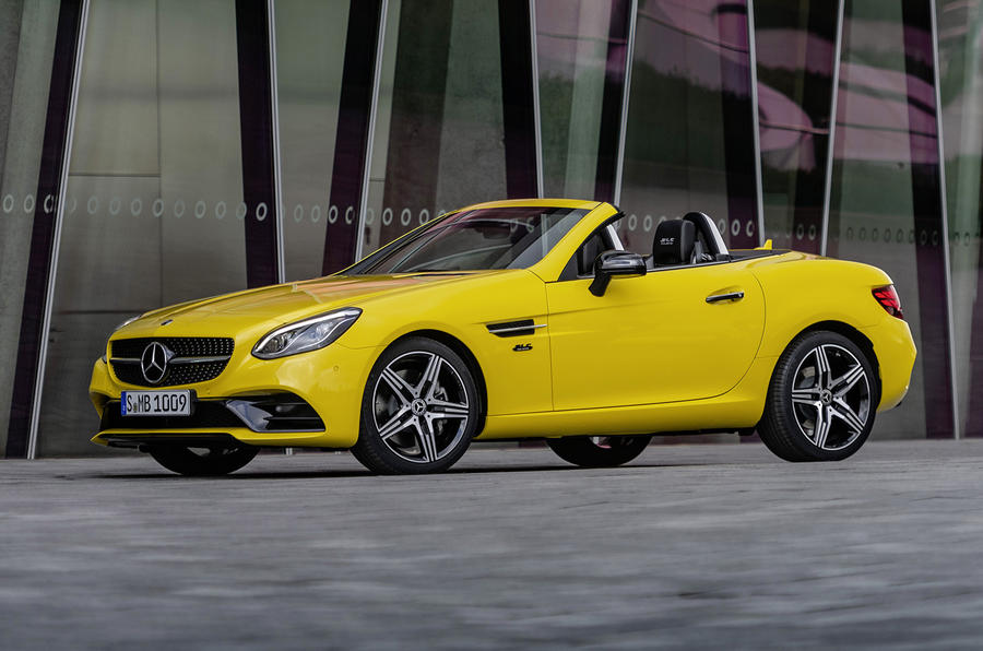 Mercedes-Benz SLC final edition official press - static side