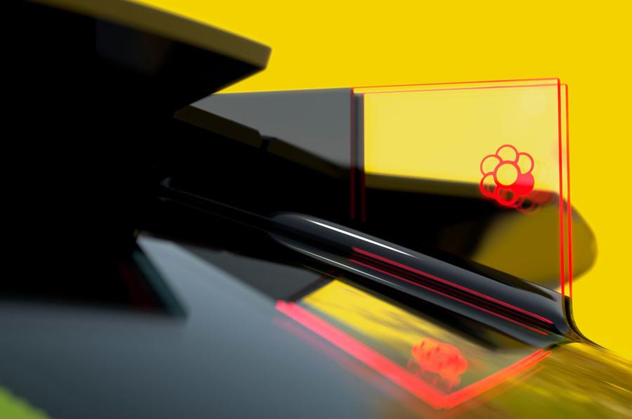 Renault Morphoz concept official studio images - rear fin