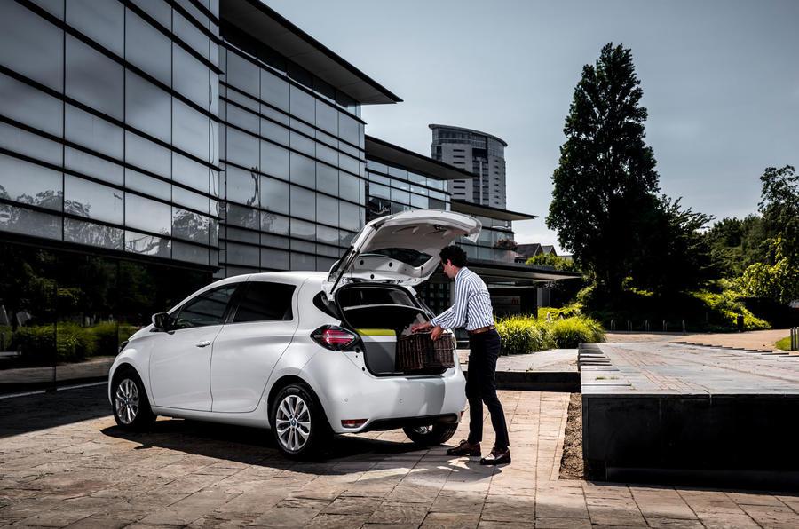 Renault Zoe van 2020 official images - static rear