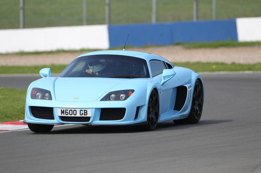 Road test rewind: Noble M600 - track front