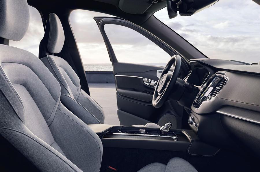 Volvo XC90 2019 refresh official press - interior