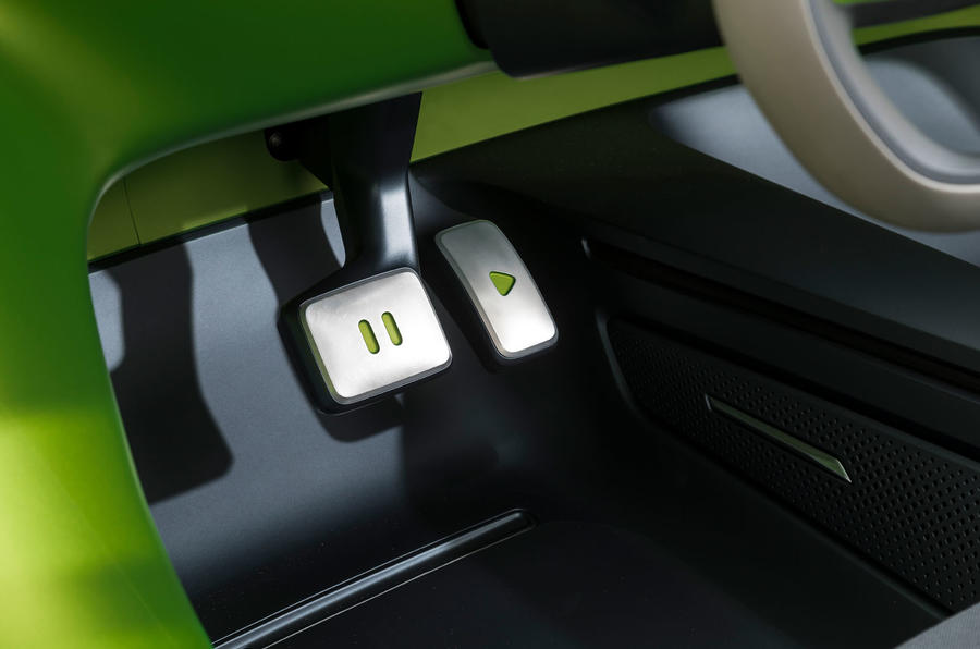 Volkswagen ID Buggy concept first drive - pedals