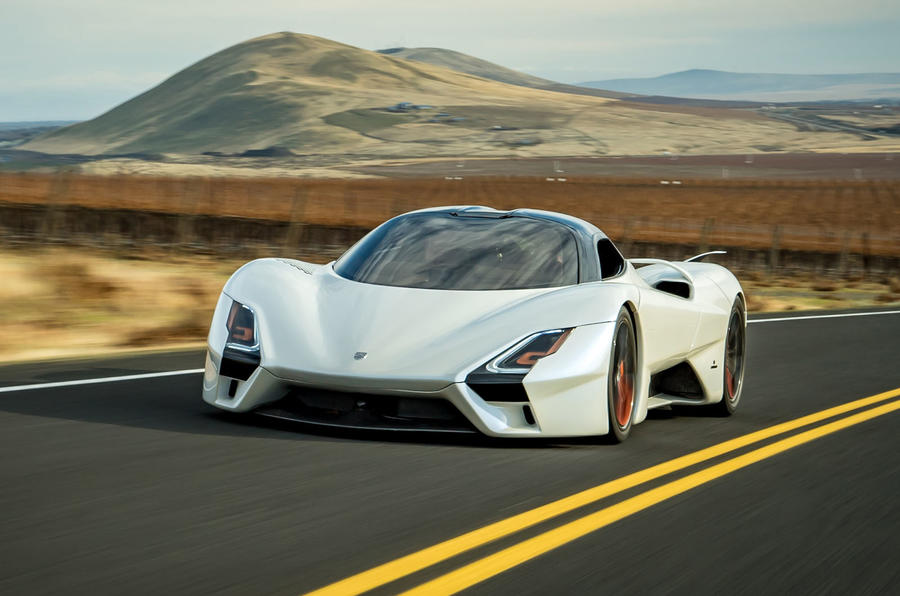 Upcoming high speed production cars - SSC Tuatara