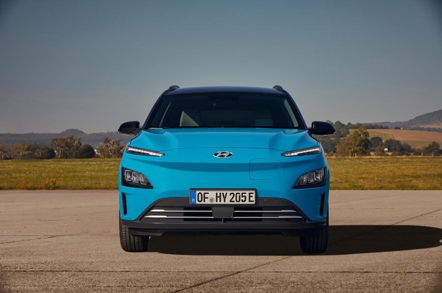 Hyundai Kona Electric MY2020 official - static nose