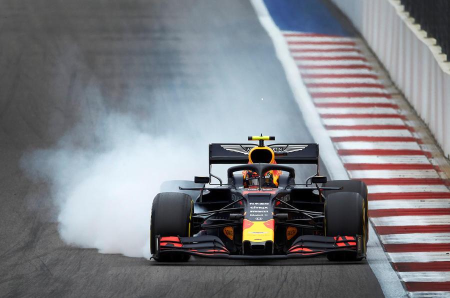 Max Verstappen driving