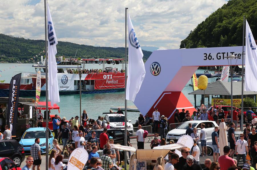 Wörthersee Treffen 2017 GTI FanBoot Fan Boat