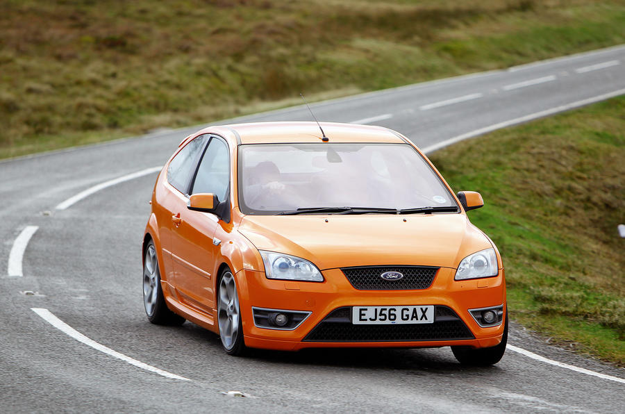Ford Focus ST - tracking front