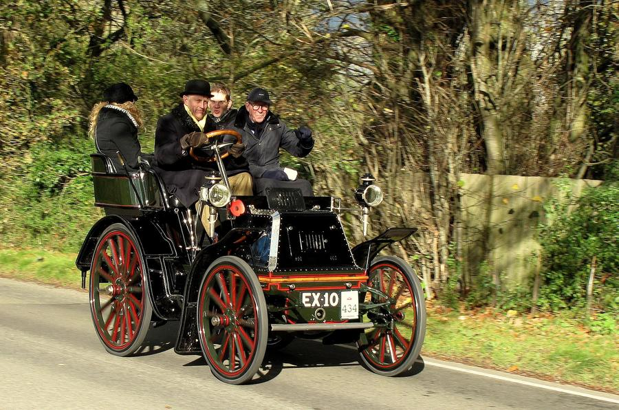 Motoring lessons from the seat of a 117-year-old car | Autocar