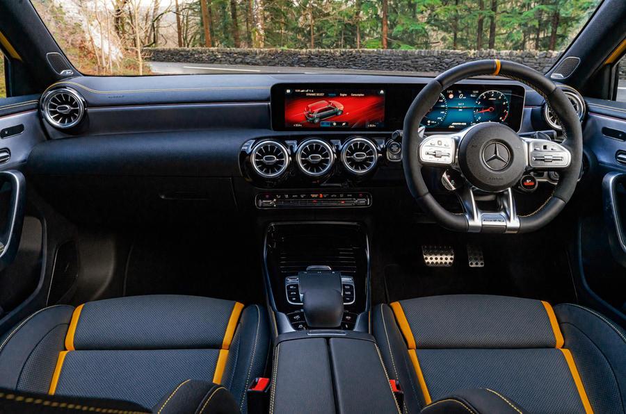 Mercedes-AMG A45 S 2019 - interior