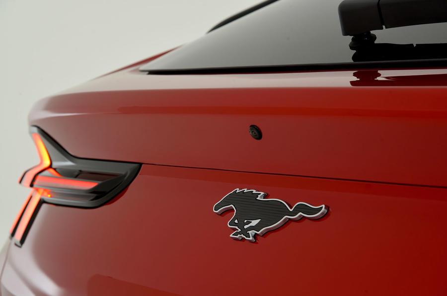 Mustang badge
