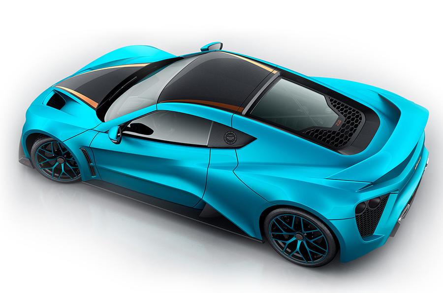1163bhp Zenvo TS1 GT anniversary model revealed ahead of Geneva