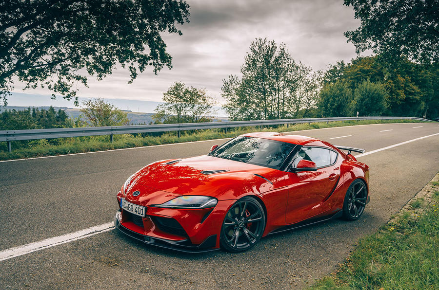 AC Schnitzer Toyota Supra 2020 first drive review - static
