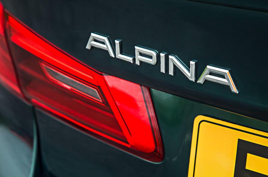 Alpina B5 BiTurbo saloon Alpina badge