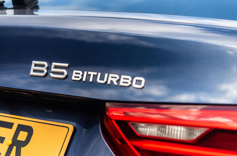 Alpina B5 Touring 2018 UK first drive review - biturbo badge