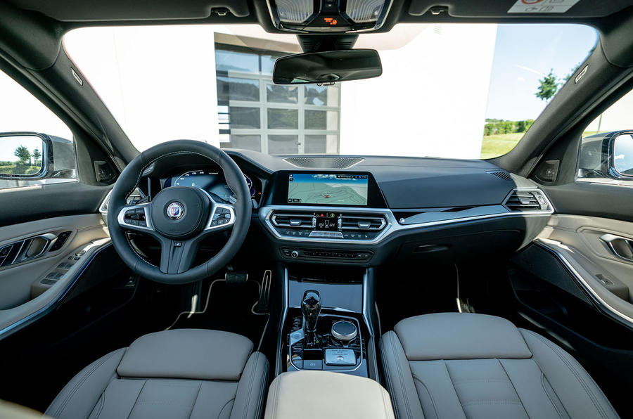 Alpina D3 S Touring 2020 first drive review - cabin