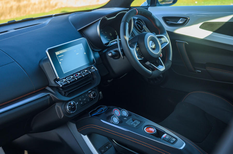 Alpine A110 S 2020 UK first drive review - cabin